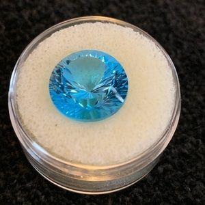 Jewelry - Swiss blue topaz stone